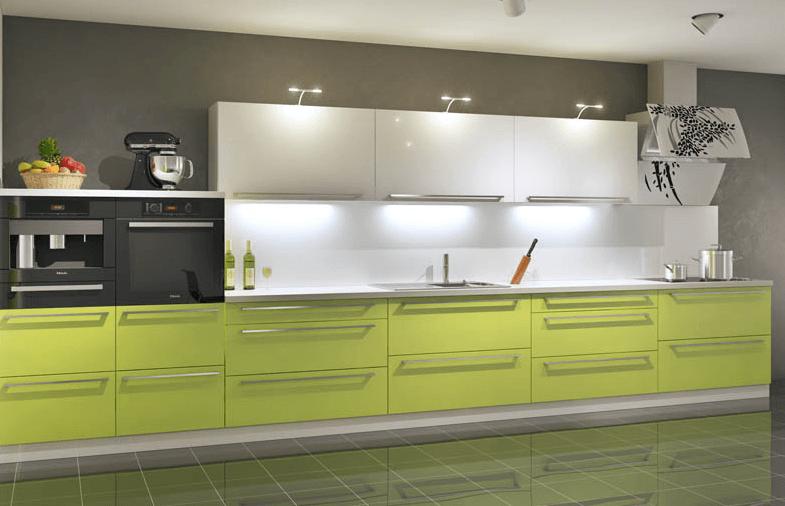 postavitev moderne kuhinje