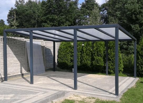kovinski nadstrešek za teraso
