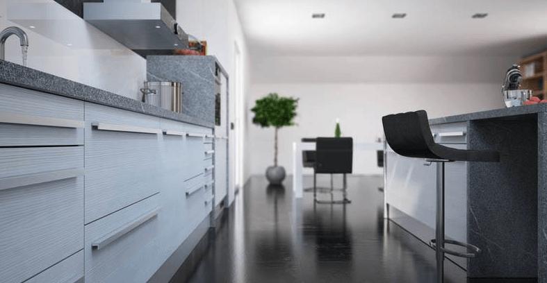 moderna postavitev kuhinje