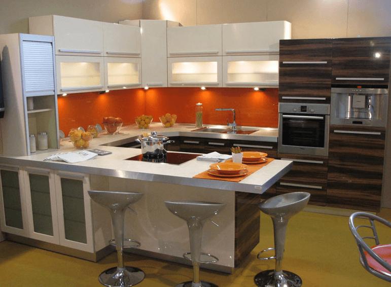 moderne jedilnice in kuhinje