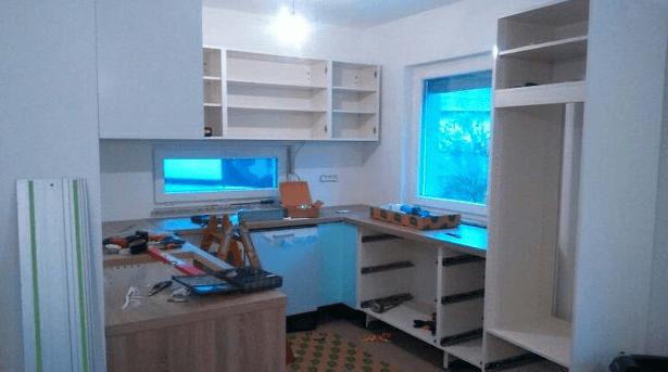 montaža kuhinje
