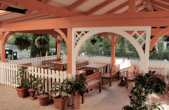 nadstreški za gostinske terase