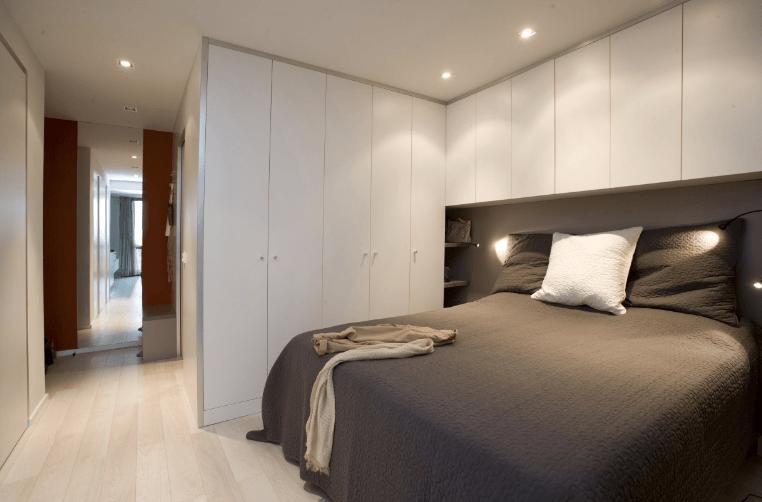 opremljenost majhne spalnice
