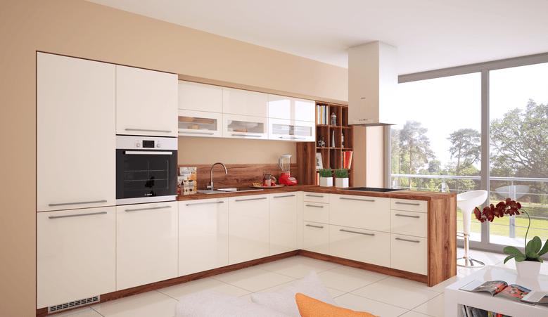 postavitev kuhinje s polotokom