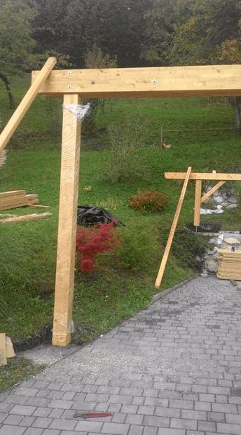 postavljanje nosilnih stebrov