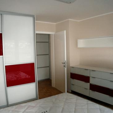 Različni primeri nizkih omar za spalnice