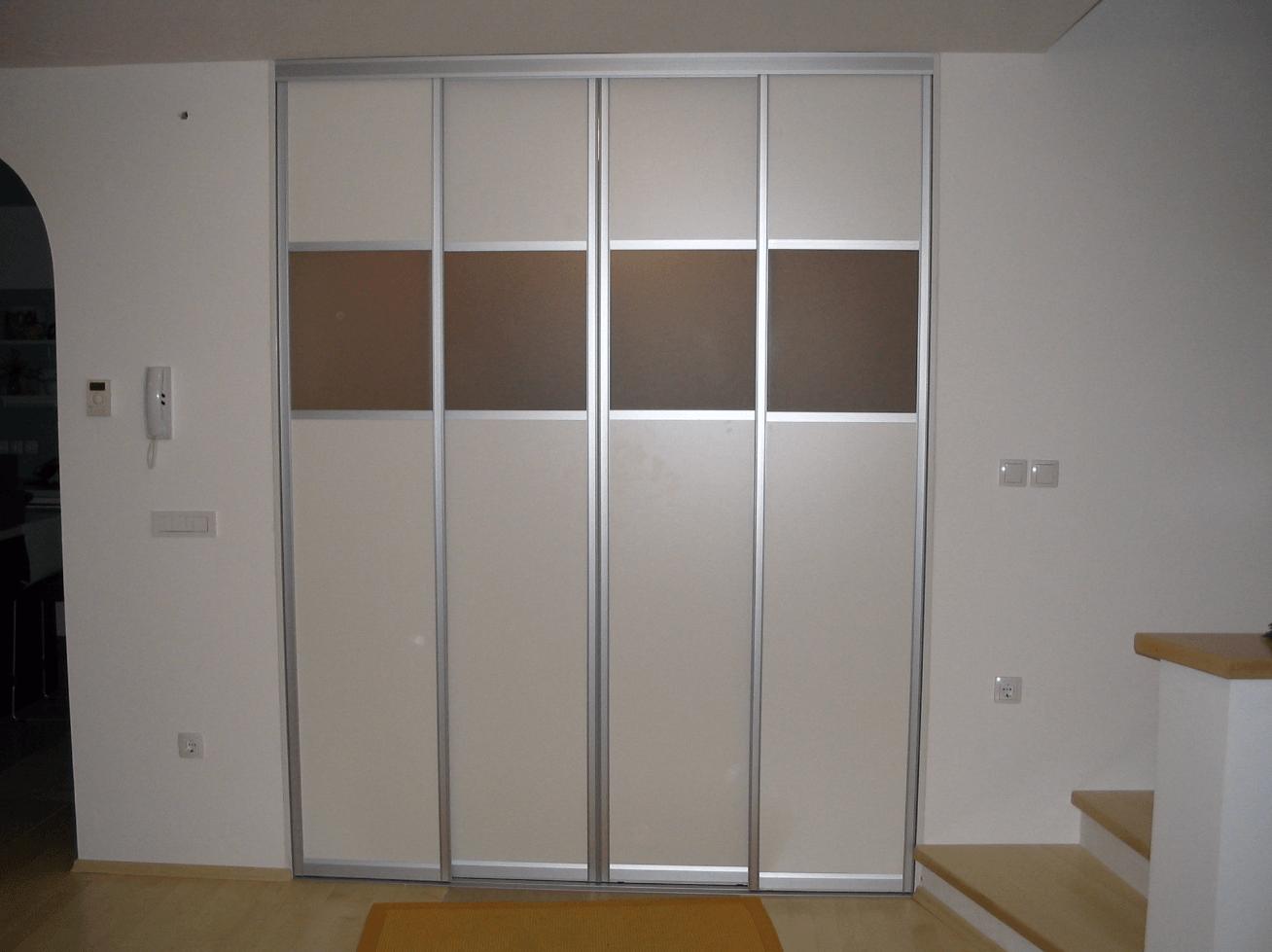 vgradnja pregradne omare