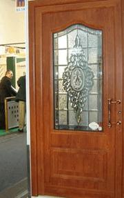 vitraž vhodna vrata