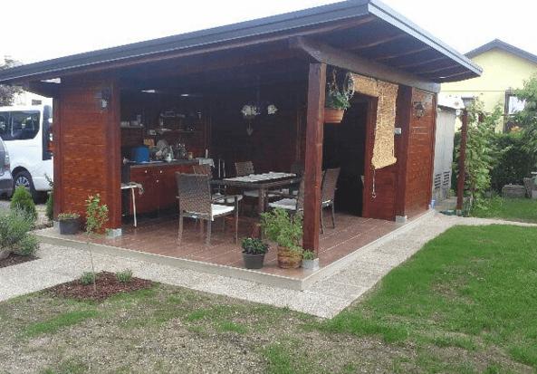vrtna uta letna kuhinja
