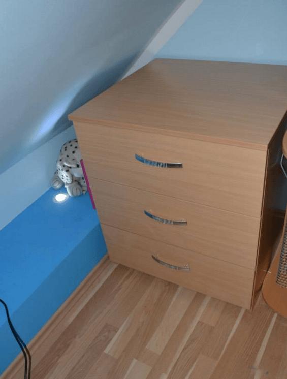 leseni predalnik po meri