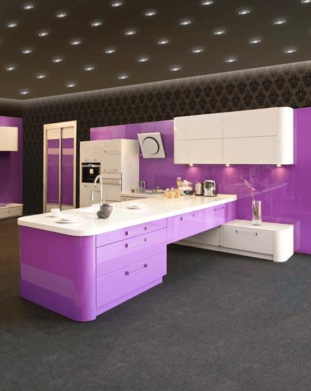 moderne barve kuhinj