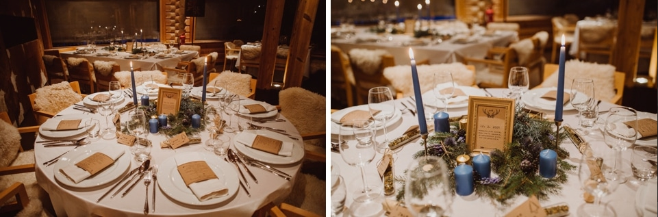 okrogle mize za poroko