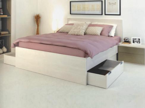 primer klasične spalnice