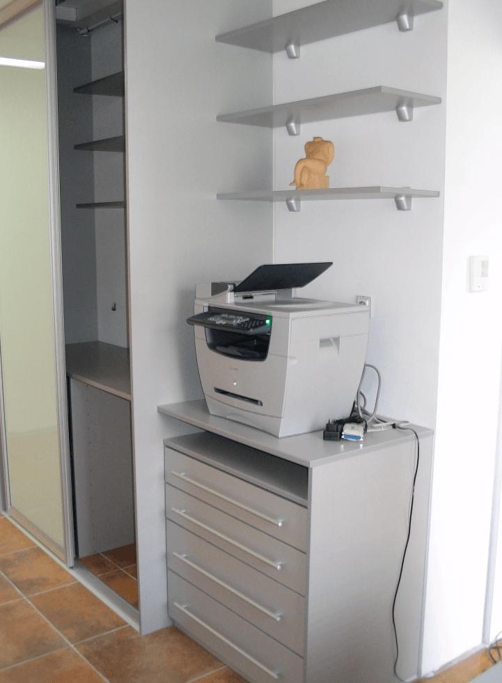 kombinirana pisarniška omara