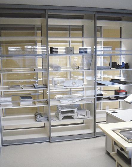vgradne omare za pisarno