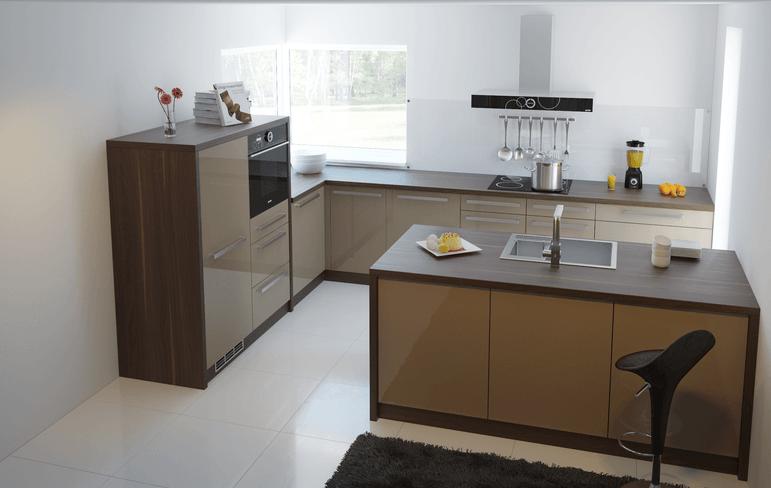 opremljenost moderne kuhinje