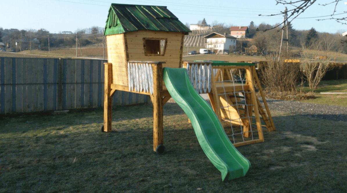 lesene hiške