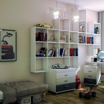5 top idej za ureditev moderne mladinske sobe