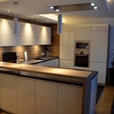 Izdelava kuhinj za različne prostorske situacije