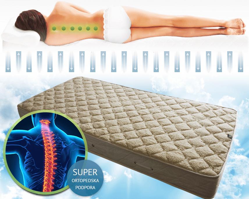 najboljše ležišče za hrbtenico