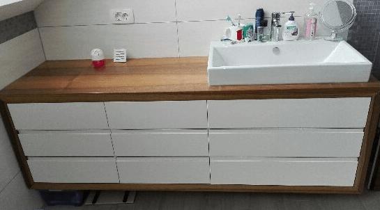 kopalniške omarice z umivalnikom po naročilu