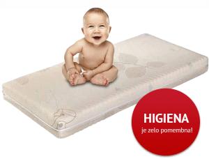 ležišče za otroško posteljico