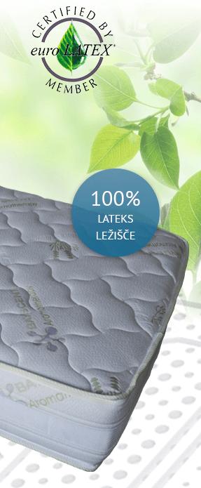 ležišče iz naravnega lateksa
