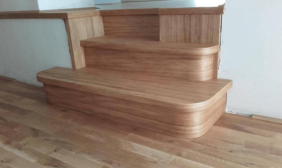 hrastove lesene stopnice