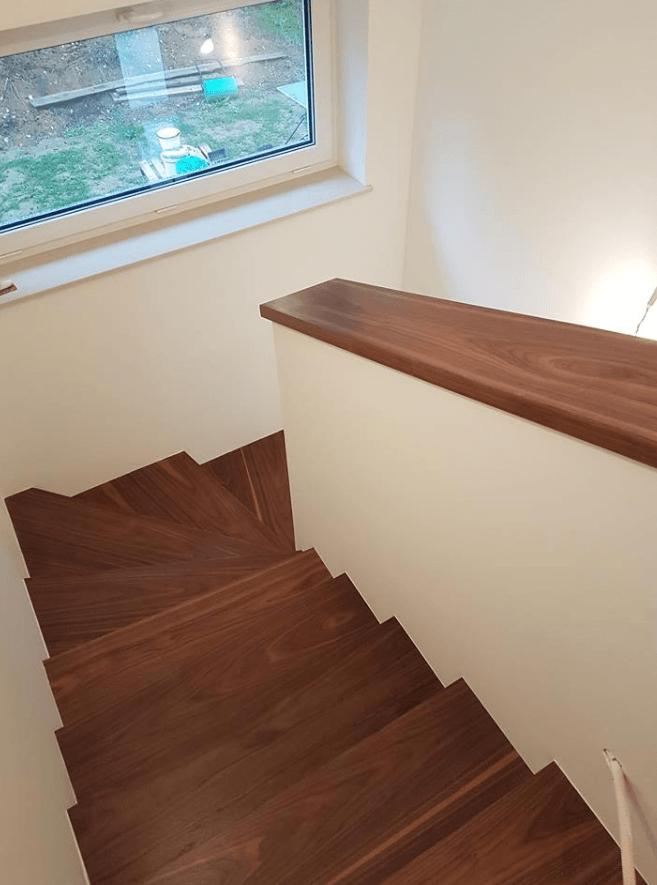 mizarstvo leseno stopnišče