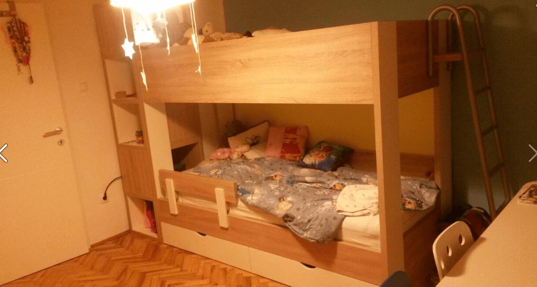 otroška soba s pogradom