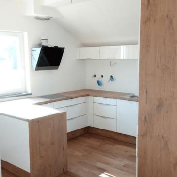 Postavitev kuhinje v majhnem stanovanju