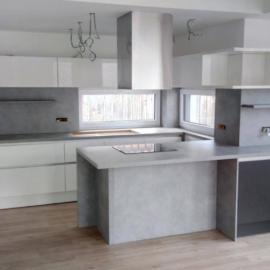 Moderno opremljena kuhinja za velike kuhinjske ambiente