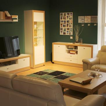 Sestavi in regali za moderno dnevno sobo