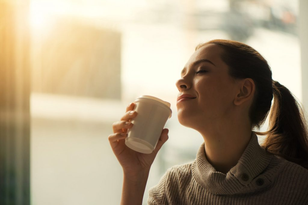 uživanje ob čaju