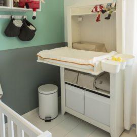 Primeri izdelanih komod za previjanje dojenčkov