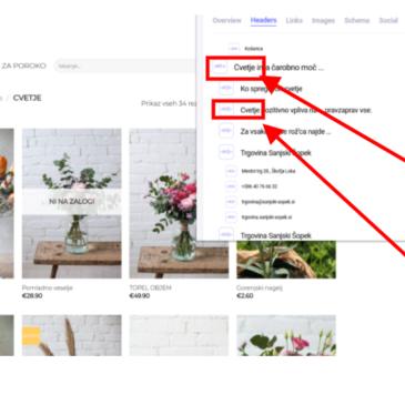Kako poteka SEO optimizacija spletnih strani Mizarstvo.si