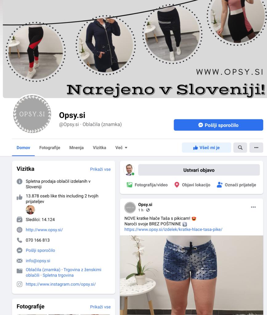facebook ženske tunike opsy